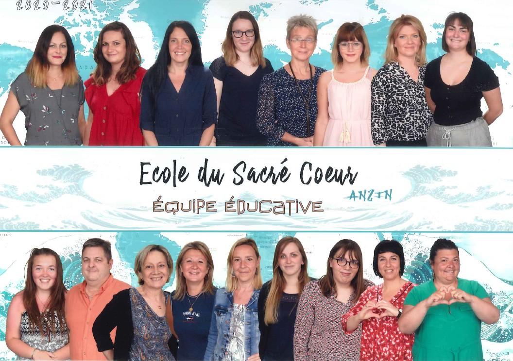 Ecole du Sacré Coeur : équipe educative